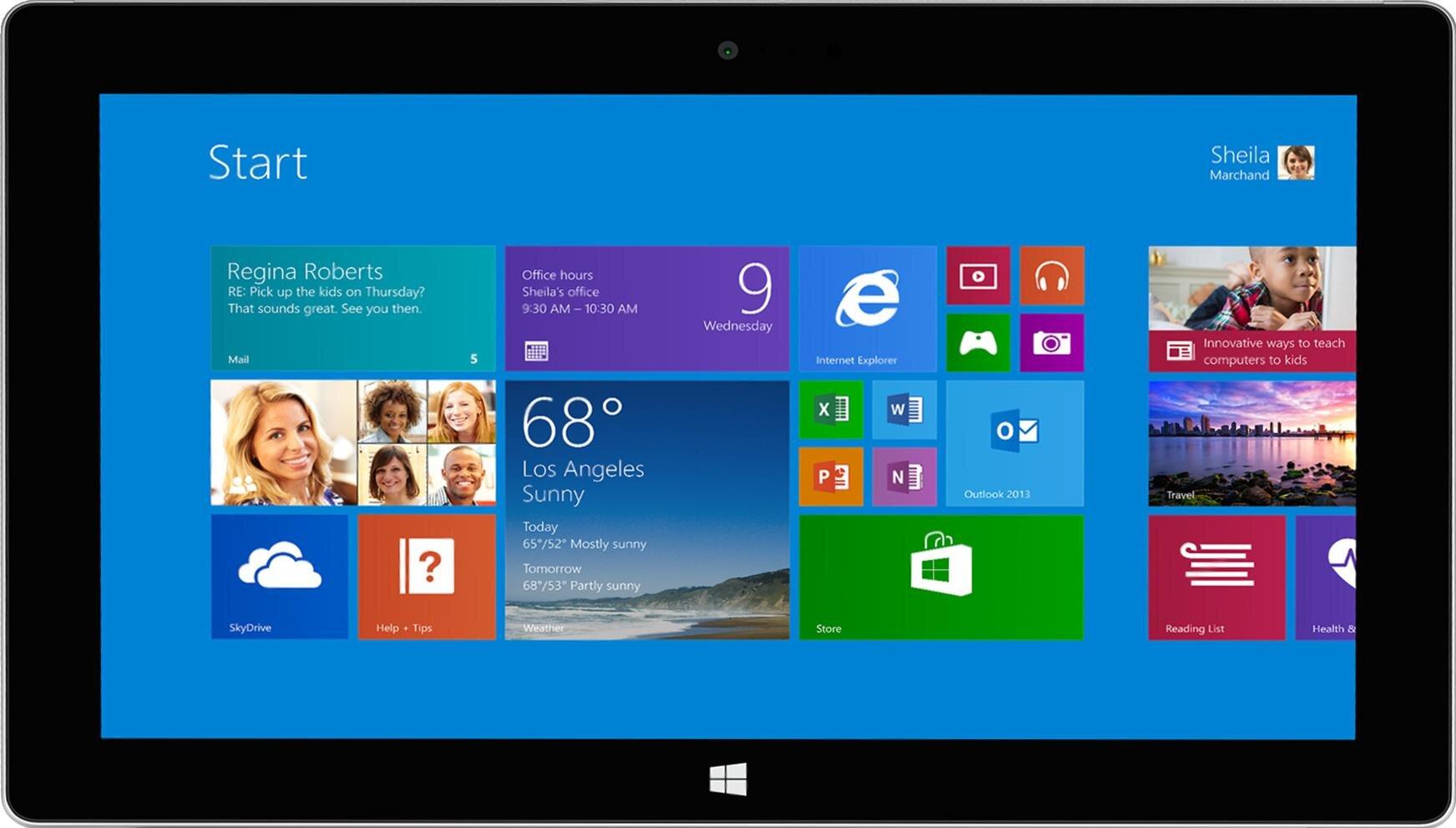 Máy tính bảng Microsoft Surface - 32GB, 10.6 inch