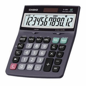 Máy tính Casio D120S (D-120S)