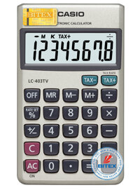 Máy tính Casio LC403TV (LC-403TV)