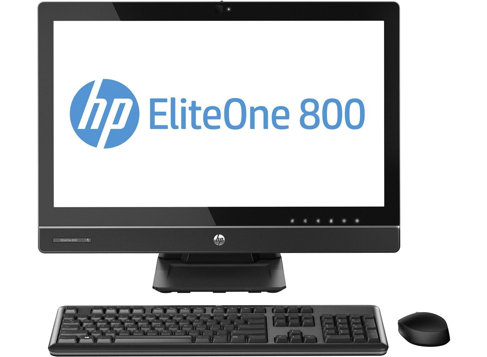Máy tính để bàn All in one HP Elite One 800G1 (F7B90PA) - Intel Core i5-4670, 8GB RAM, 1TB HDD, VGA AMD Radeon HD 7650A, 23 inch
