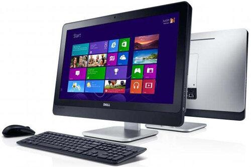 Máy tính để bàn All in one Dell Inspiron IN2330(1403025w) - Intel Core i7-3770S, 8GB DDR3, 1TB HDD, DVDRW, AMD Radeon HD 7650A, Keyboard & Mouse