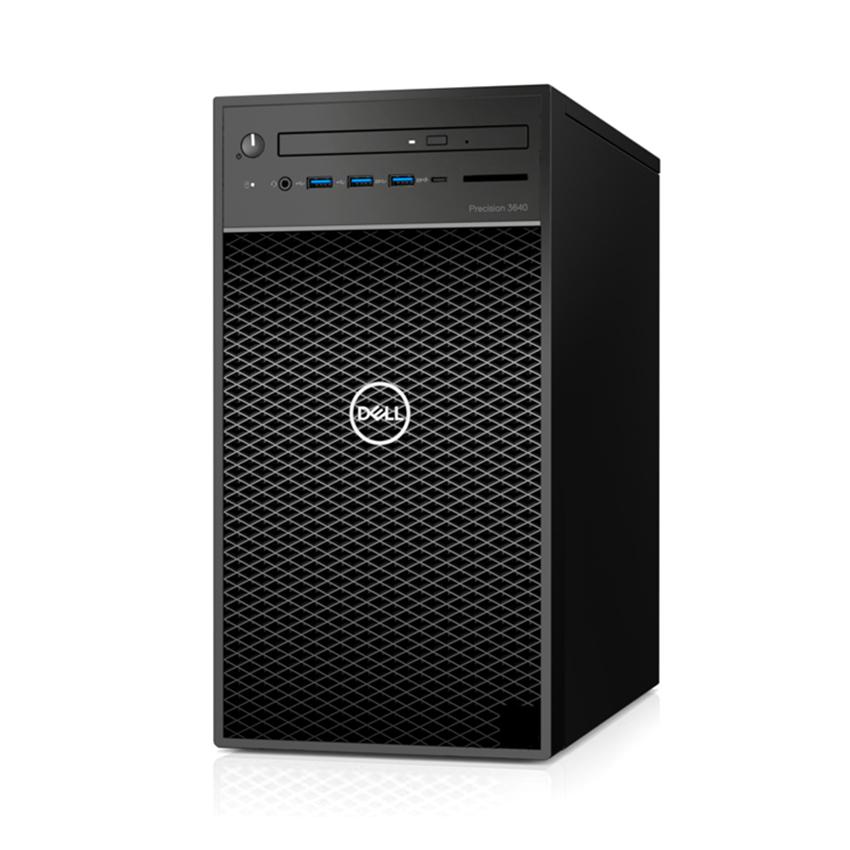 Máy tính để bàn Dell Precision 3640 Tower CTO Base 42PT3640DW01 – Intel Xeon W-1270P, 8GB RAM, SSD 256GB + HDD 1TB, Nvidia Quadro P2200 5GB