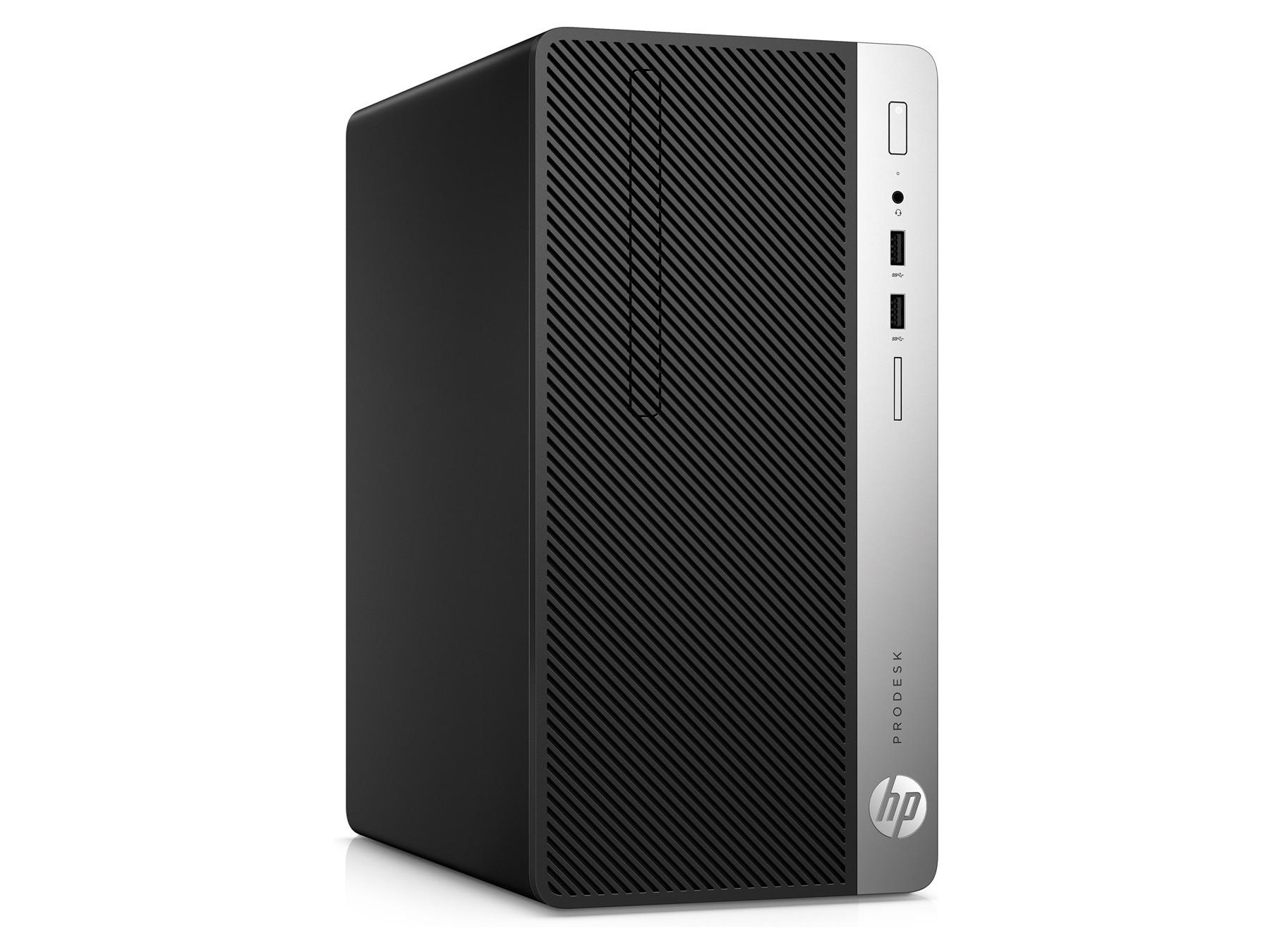 Máy tính để bàn HP ProDesk 400 G5 SFF 4TT15PA – Intel Core i3-810, 4GB RAM, HDD 500GB, Intel UHD Graphics