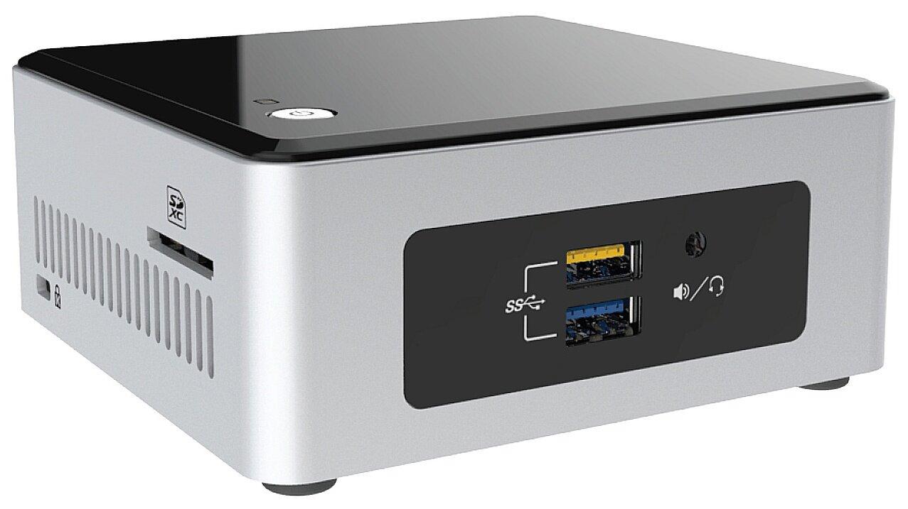 """Máy tính để bàn mini PC Intel NUC Kit NUC5CPYH - Celeron N3050, Ram 8GB, HDD 2,5"""""""
