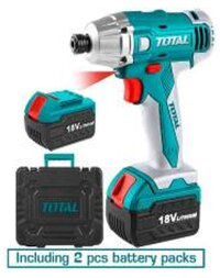 Máy vặn siết vít dùng pin Total TIDLI228181 18V