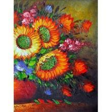 Tranh in canvas VTC LunaCV-0239 - hoa hướng dương, 50 x 70cm