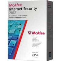 McAfee Internet Security 2012 - 3PC