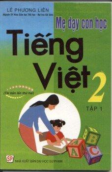Mẹ dạy con học Tiếng Việt 2 tập 1
