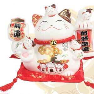 Mèo may mắn Nhật Bản Maneki Neko 14153