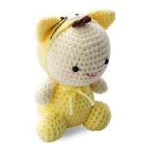 Mèo mướp Bobi Craft WT-022YEL-M - 16cm