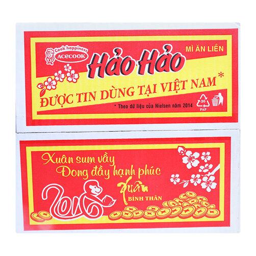 Mì tôm chua cay Hảo Hảo thùng 30 gói x 75g