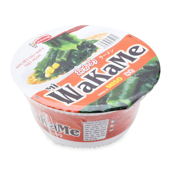 Mì Wakame hương vị Miso tô 77g
