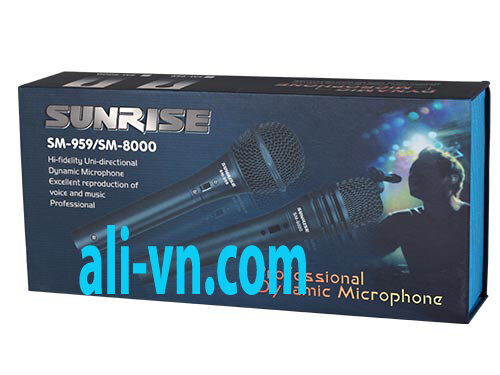 Micro karaoke có dây Sunrise SM-959