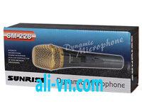 Micro karaoke có dây Sunrise SM-228