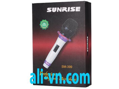 Micro karaoke có dây Sunrise SM-399