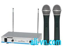 Micro karaoke không dây Sunrise V326