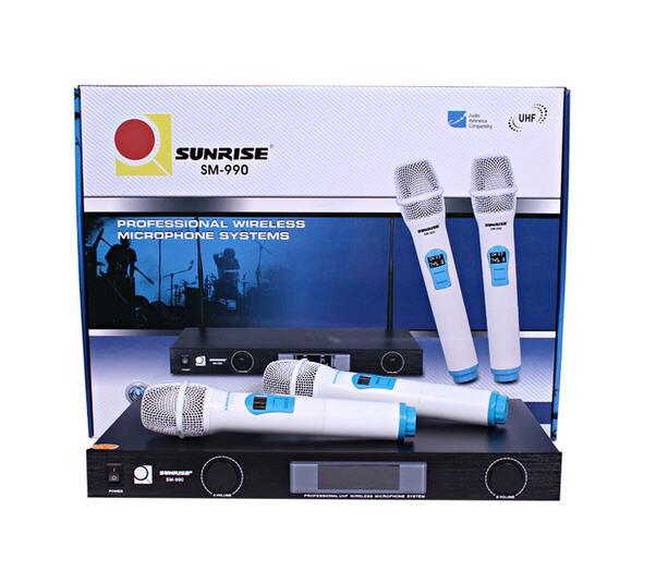 Micro karaoke không dây Sunrise SM-990