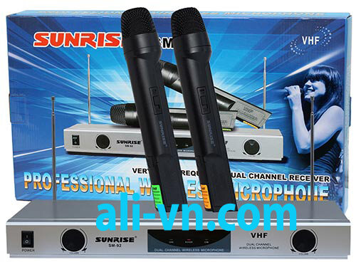 Micro karaoke không dây Sunrise SM-92