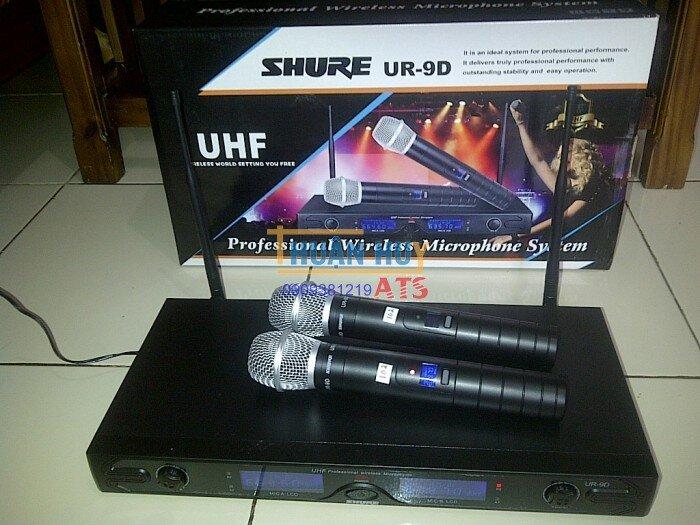Micro không dây Shure UR9D