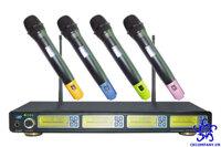 Micro không dây Tanmi ACT-3460 ( bộ 4 micro không dây)