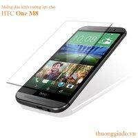 Miếng dán cường lực Glass HTC One M8