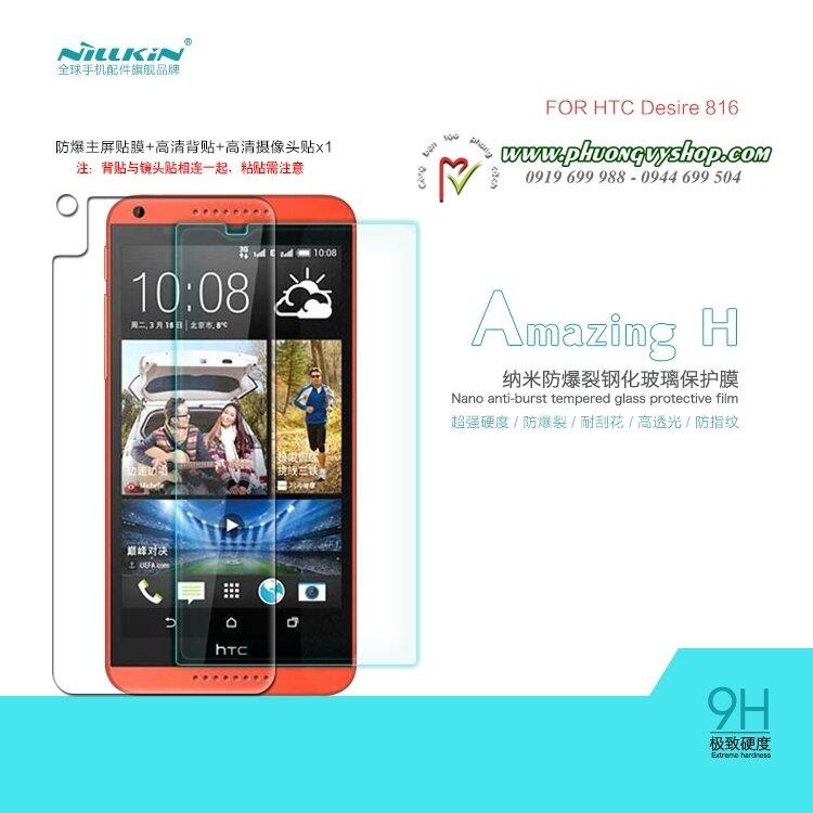 Miếng dán cường lực HTC Desire 816 Nillkin 9H