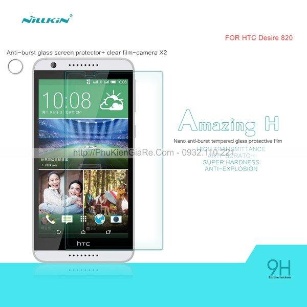 Miếng dán cường lực HTC Desire 820 Nillkin 9H