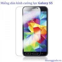 Miếng dán cường lực SAMSUNG S5 - Glass