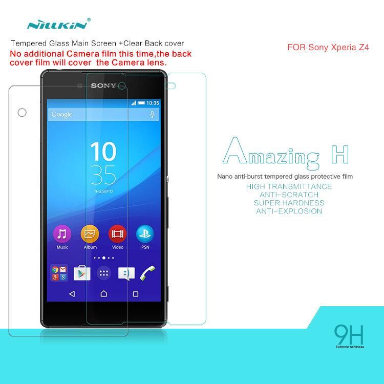 Miếng dán cường lực Sony Xperia Z4 hiệu Nillkin 9H