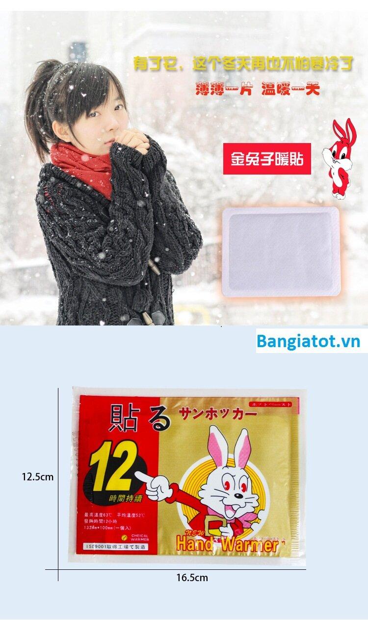 Miếng dán giữ nhiệt Nhật Bản