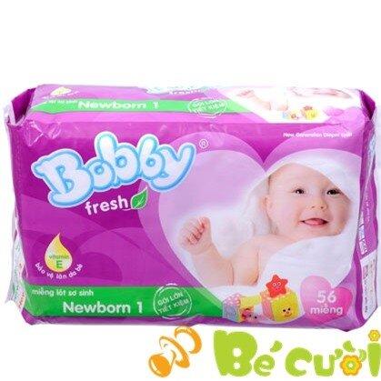 Miếng lót Bobby Fresh Newborn 1 56 miếng (dưới 1 tháng)