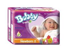 Miếng lót Bobby Fresh Newborn 2 40 miếng (trẻ từ 1 - 3 tháng)