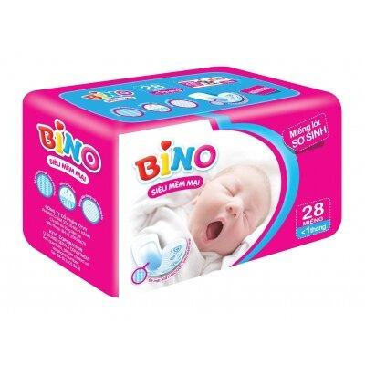 Miếng lót sơ sinh Bino 28 miếng (dưới 1 tháng)