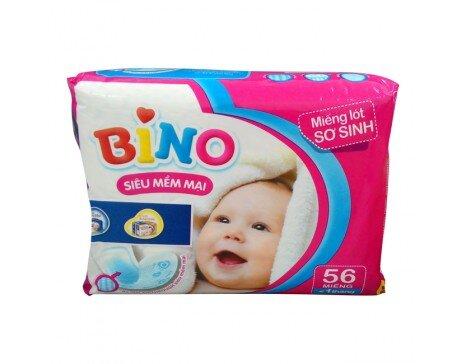 Miếng lót sơ sinh Bino 56 miếng (dưới 1 tháng)