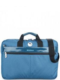 Mikkor Editor Briefcase Blue