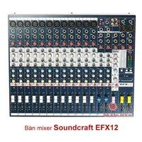 Mixer Soundcraft EFX12 (EFX 12)