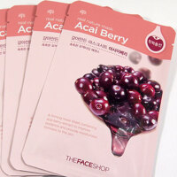 Mặt nạ The Face Shop Real Nature Mask Acai Berry
