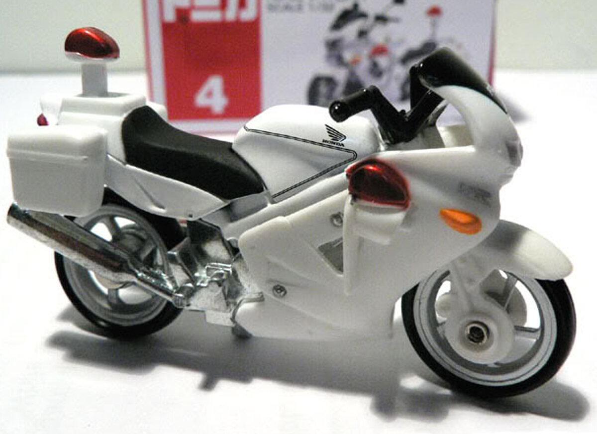Mô hình 04 xe Honda Police Bike Tomy 716464