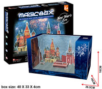 Mô Hình 3D CubicFun – New Year's Eve In Moscow OM3607h