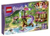 Mô hình Căn cứ giải cứu rừng xanh Lego Friends 41038