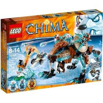 Mô hình Cỗ máy chiến đấu của Hổ Băng Lego Chima 70143