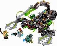 Mô hình Cuộc tấn công của bọ cạp Lego Chima 70132