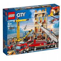 Mô hình đồ chơi lắp ráp Lego city - Đội cứu hoả thành phố 60216