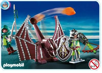 Mô hình Dragons Catapult Playmobil 4840