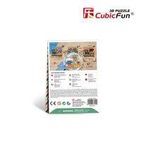 Mô Hình Giấy Cubic Fun Wharf W3114H