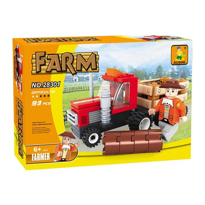 Mô hình lắp ghép AUSINI Farm - Nông trại vui vẻ 28301