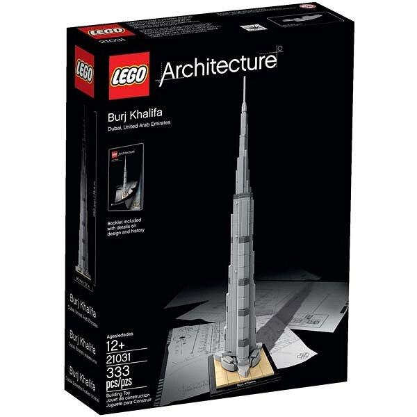 Mô hình LEGO Architecture - Tòa nhà chọc trời Burj Khalifa 21031 (333 mảnh ghép)