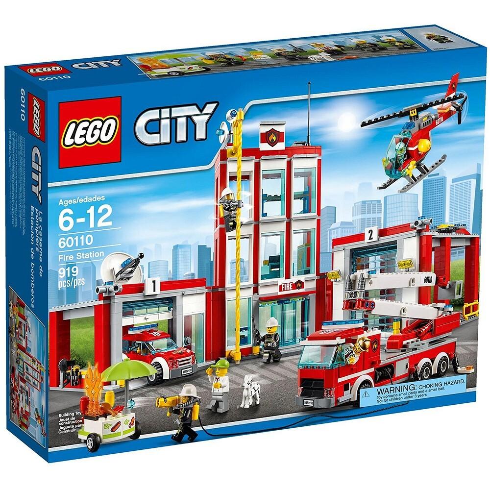 Mô Hình Lego City Fire Trạm Cứu Hỏa 60110