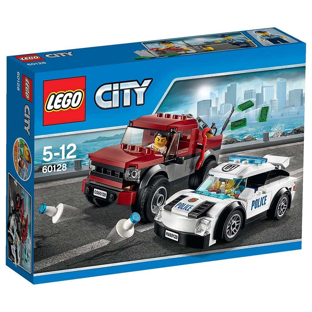 Mô Hình LEGO City Police - Cảnh Sát Truy Đuổi 60128