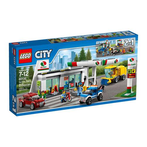 Mô hình LEGO City - Trạm dịch vụ 60132